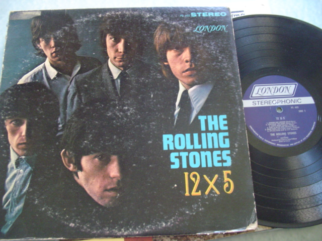 ROLLING STONES - 12 X 5 - LONDON STEREO PS 402